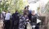Студенты-волонтеры взялись за уборку заброшенного кладбища Ристемяки