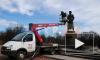 В Московском парке Победы помоют памятник Жукову