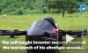 Инженер-самоучка изобрел самый маленький самолет