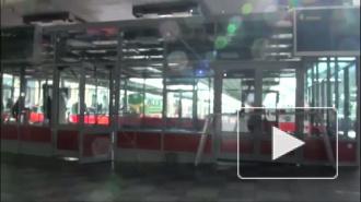 Павильоны для досмотра пассажиров «Сапсана» на Московском вокзале практически готовы