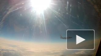 Истребитель МиГ-31 сопроводил американский самолет-разведчик над Тихим океаном