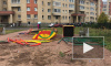 Пушкинская администрация снесла детскую площадку, установленную местными