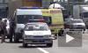 Причиной гигантской пробки на КАД Санкт-Петербурга стала страшная авария на вантовом мосту