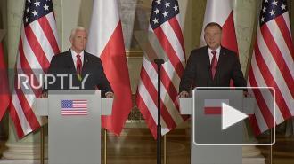 В МИД России осудили соглашение об увеличении контингента США в Польше