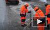 Убийственное видео: На Кутузовском проспекте водитель задавил четырёх рабочих