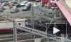Швейцария: Появилось фото и видео с места аварии с пассажирским поездом