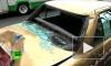 Полицейские лошади разбили 11 машин и ранили человека
