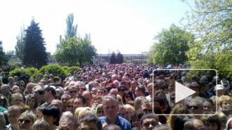 Беспорядки в Константиновке: 12 жителей, возмущенных убийством женщины и ребенка силовиками, задержаны