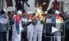 Олимпийский факел полностью сгорел во время эстафеты в Самаре