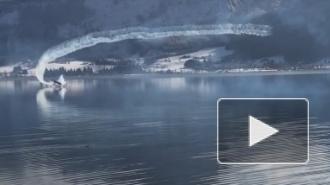 Опубликовано видео падения самолета в озеро во время авиашоу в Австрии