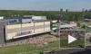 """Видео: эвакуация ТРЦ """"Капитолий"""" на Коломяжском проспекте"""