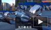 Жуткие кадры из Китая: Упавший кран раздавил насмерть 7 человек в автомобиле