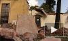 В Петербурге рухнул дом, оставив соседей без газа и света
