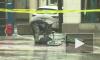 """Молниеносное видео из США: Велосипедиста задержали за быстрое """"разминирование"""" подозрительного предмета"""