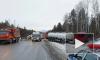 На М 5 в Челябинской области столкнулись 3 грузовика и 2 легковушки
