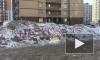 Коммунальщики поленились убрать Навального с грязного сугроба