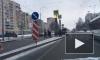 На улице Партизана Германа жестко столкнулись две легковушки