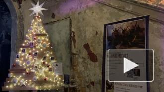 Доброелка и ель на потолке: Анненкирхе украсили к Новому году