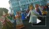 """Первомайское поселение участвовало  в """"Хороводе Мира"""" на Дворцовой"""