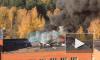 В Сосновом Бору вспыхнуло здание прокуратуры и городского суда