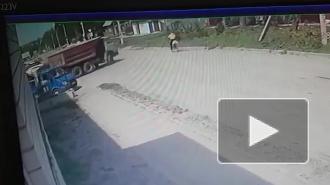 В Скопине Рязанской области мусоровоз насмерть сбил велосипедиста