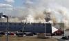 Видео из Петербурга: на Внуковской произошел крупный пожар