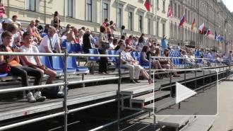 Началась главная регата города - Золотые весла Санкт-Петербурга