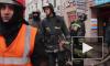 Пожар на складе деревянных поддонов напугал петербуржцев