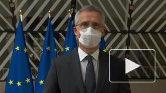 """Глава НАТО заявил о """"военном присутствии"""" России у границ с Украиной"""