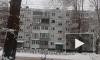 Появилось видео пожара в Тольятти на улице Дзержинского