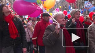 Первомай в Петербурге: от ЕдРа с сексапильными барабанщицами до скандальных ЛГБТ
