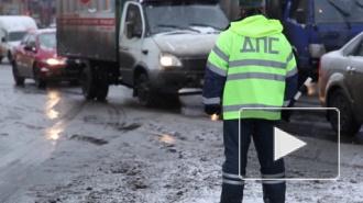 ДТП в Санкт-Петербурге: на Маршала Говорова сбили пешехода, в Пушкине столкнулись автобус и минивен