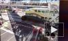 Видео: поезд сбил нерешительного водителя во Флориде