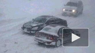 На Петербург и Ленобласть надвигается снежная буря