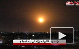 При ракетной атаке на юг Дамаска пострадали семь сирийских солдат