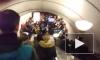 Утренний коллапс на синей ветке метро Петербурга вызвали сломавшиеся светофоры