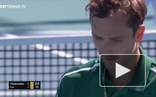 """Медведев стартовал с победы на теннисном турнире серии """"..."""