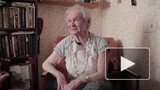 Евгения Исаевна Фролова о бомбежке в Лычково