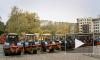 В Приморском районе прошел торжественный парад дорожной техники