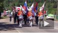 Видео: жители Первомайского отметили 75-летие поселка