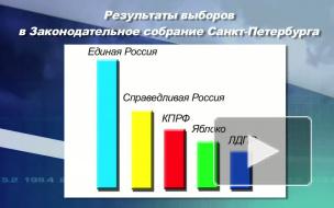 Депутаты выбирают спикера Заксобрания Петербурга