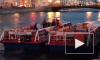 Видео: Теплоход врезался в мост на Фонтанке в Петербурге, пострадала невеста