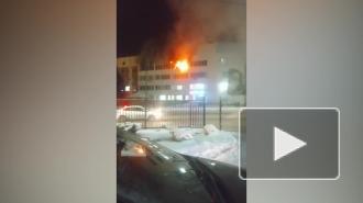 В Уфе ликвидировали пожар на станции переливания крови