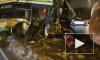 В Москве автобус протаранил столб, из-за легковушки