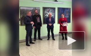 """Ильдар Гилязов посетил выставку """"АРТ-СТАРТ"""" в """"Эрмитаж-Выборг"""""""