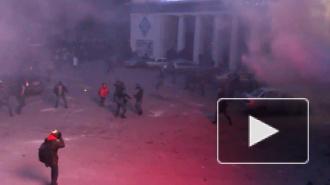 Кровавое вече: в Киеве произошли столкновения протестующих и милиции