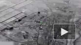 Опубликовано видео ракетного удара Ирана по авиабазе США
