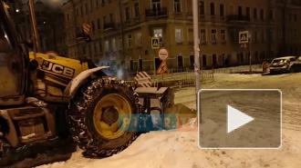 Прорыв трубы на Клинском проспекте