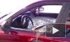 Видео: ревнивый петербуржец превратил в бетон авто супруги