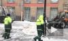 В Петербурге начали обработку улиц гранитной крошкой